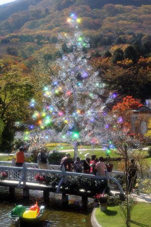 """クリスタルガラスのクリスマスツリー""""アベーテ"""""""