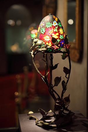 ミルフィオリ・グラス・ランプ
