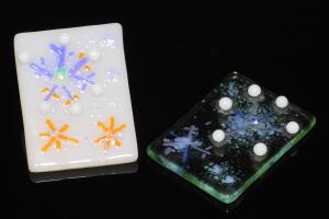 フュージング体験工房 冬季限定モチーフ:雪の結晶