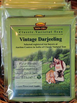 2012年春の新茶 ダージリン・ティー ファーストフラッシュ