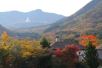 小塚山・台ヶ岳方面の紅葉
