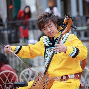 2月22日開催 セーンジャー馬頭琴コンサート