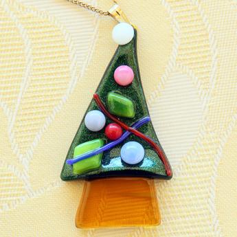 フュージング体験工房:季節限定モチーフ「クリスマスツリー」