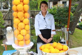 フレッシュ・オレンジジュース