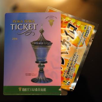 箱根ガラスの森美術館「ぽかぽかチケット」