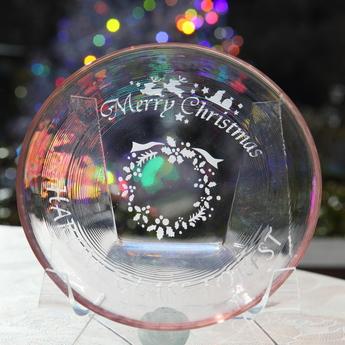 サンドブラスト体験工房クリスマス限定モチーフ