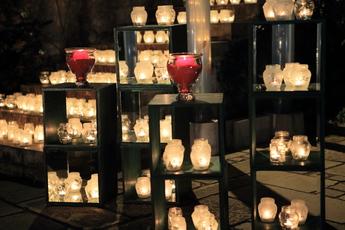 箱根ガラスの森美術館「ライトアップ・キャンドル」