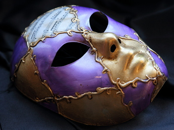 ヴェネチア仮面「ヴォルト(volto)」