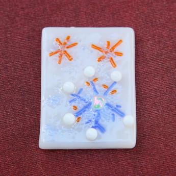 フュージング体験工房:期間限定モチーフ「雪の結晶」