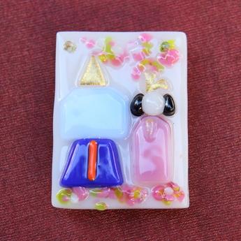 フュージング体験工房:雛人形