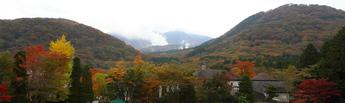 小塚山と台ヶ岳の紅葉