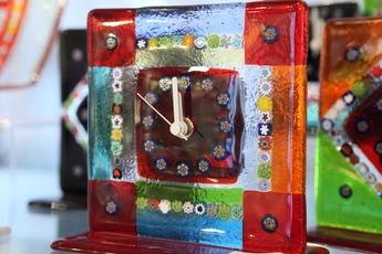 ミルフィオリ時計