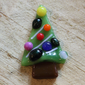 フュージング体験工「クリスマスツリー」