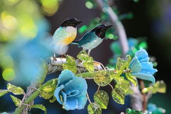 ガラスの小鳥