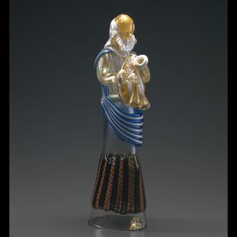 展示作品のご紹介:ガラスのプレセピオ「パウロ像」