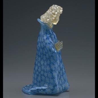 展示作品のご紹介:ガラスのプレセピオ「ヨハネ像」