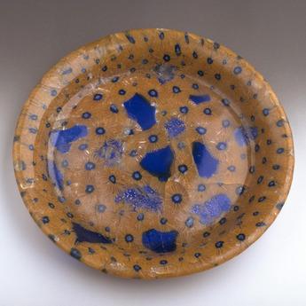 収蔵作品のご紹介:ミルフィオリ・グラス皿