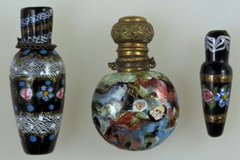 モザイク・グラス香水瓶