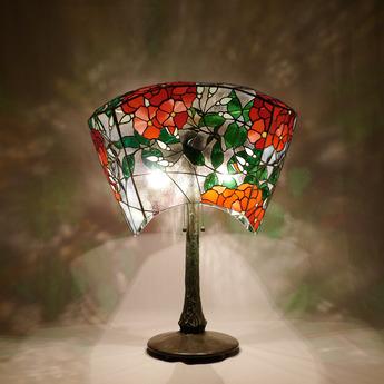 今須智哉ステンドグラス作品展「箱根を彩る万葉の花」