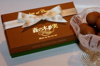 ナッツ入りチョコレート菓子「森の木ノ実」