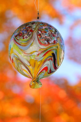 ガラスの風船
