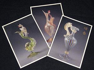 ドラゴン( 龍) 作品のポストカード