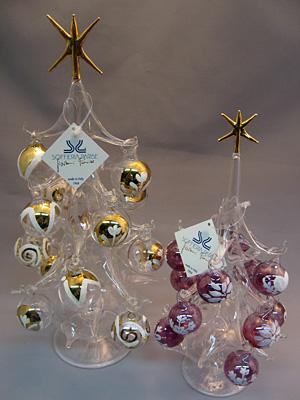 ガラスのクリスマスツリー(星型)