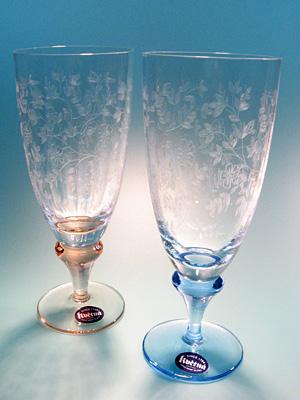 チェコ製シャンパングラス