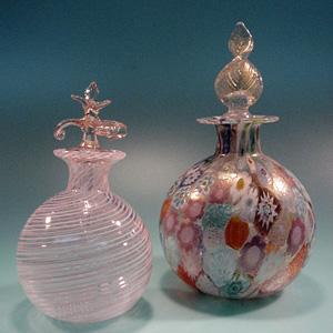 ヴェネチアングラス香水瓶