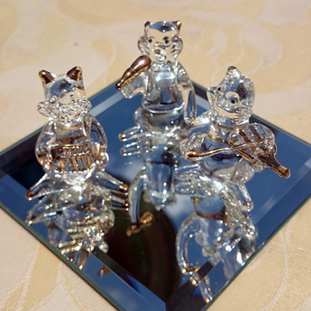 ゴールデンウイーク限定販売ガラスの猫セット