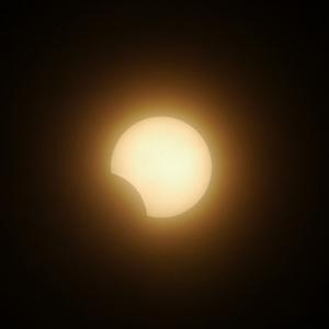 金環日食 食の最後