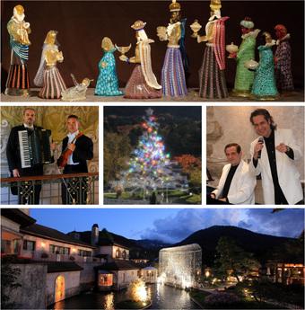 箱根ガラスの森美術館 クリスマス企画・イベント