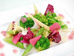 春野菜のサラダ〜桜ドレッシング〜