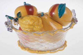 展示作品のご紹介:果物鉢と果実