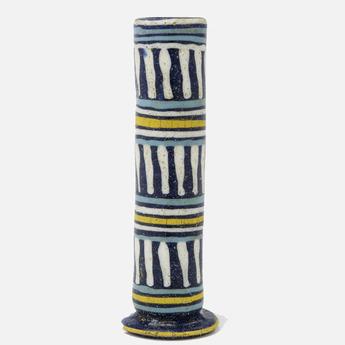 展示作品のご紹介:コア・グラス柱状瓶