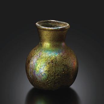 展示作品のご紹介:銀化小瓶