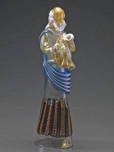 収蔵作品のご紹介 ガラスのプレセピオ「パウロ像」