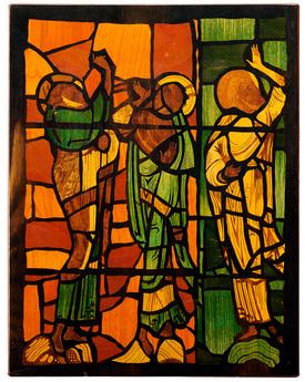 「モザイク美の世界」展示作品のご紹介:三聖人壁掛